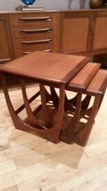 Beautiful Retro G plan Astro nest of tables