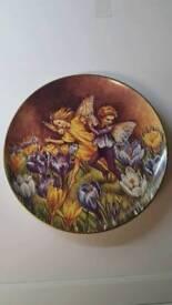 The Crocus Fairy Plate