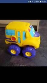 Tonka Soft & Squeezy School Bus