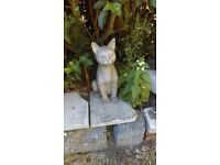 Cat Garden Ornament