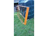 roof rack, citroen berlingo slimline, orange in colour