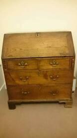 Antique bureau /writing desk /dresser