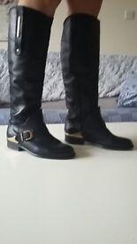 Black women boots