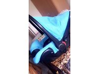 Pushchair and seat