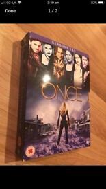 Box set once upon a time. Seasons 1&2 dvd