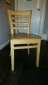 Wooden Dining chairs commercial quality. Suit cafe restaurant or hotel