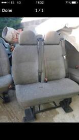 Van Seats Transit - UPDATE 22/01/2018 - Now only 3 single seats left