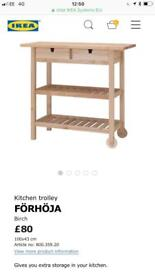 IKEA FORHOJA kitchen storage unit