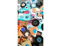 Job lot of 50 original Vintage single vinyl records
