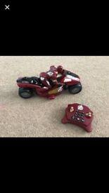Avengers remote control bike