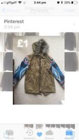 Coats £1 for both