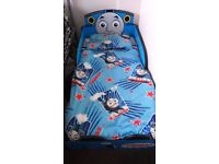 Thomas toddler bed comes with mattress and bedding if required collection only