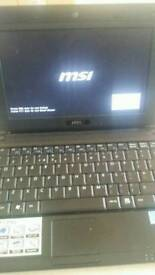 MSI NOTEBOOK MS-N811 120GB SATA HDD CORE2DUO INTEL N270 .1.60GHZ.WIN7ULT