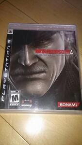 Metal Gear Solid 4 PS3 *NEGOTIABLE*