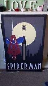 Spiderman Canvas Large