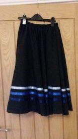 Katz Dancewear Ballet Character Skirt-size 26 inch waist