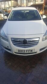 BX plate Vauxhall INSIGNIA SRI CDTI AUTO 2.0 -2012