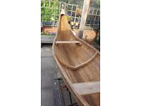 Wooden Bespoke Hand Made Viking Boat. Would be lovely as a garden planter or decorative item.