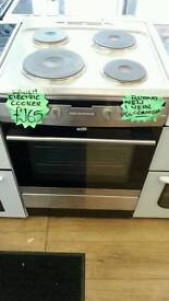 AMICA 60CM ELECTRIC COOKER IN SILVER ☆ BRAND NEW ☆