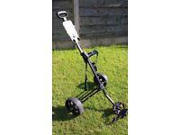 Golf Master 2 wheel Pull trolley.