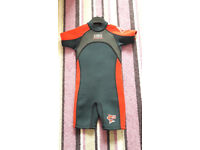 Child's shorty wetsuit