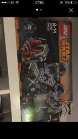Various Lego sets Star Wars movie Exo suit