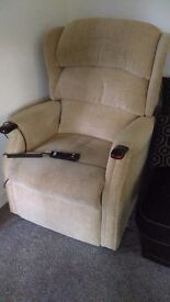 Recliner chair, celebrity manufacture