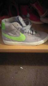 New Nike high top trainers