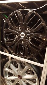 NEW 18 INCH FORD TRANSIT VAN ALLOY WHEELS OR WHEELS AND TYRES AS A PACKAGE DEAL