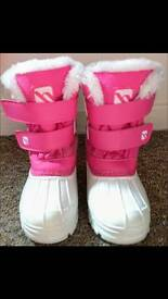 Girls winter snow boots FREE Clarks boots
