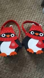 2 penguin bags
