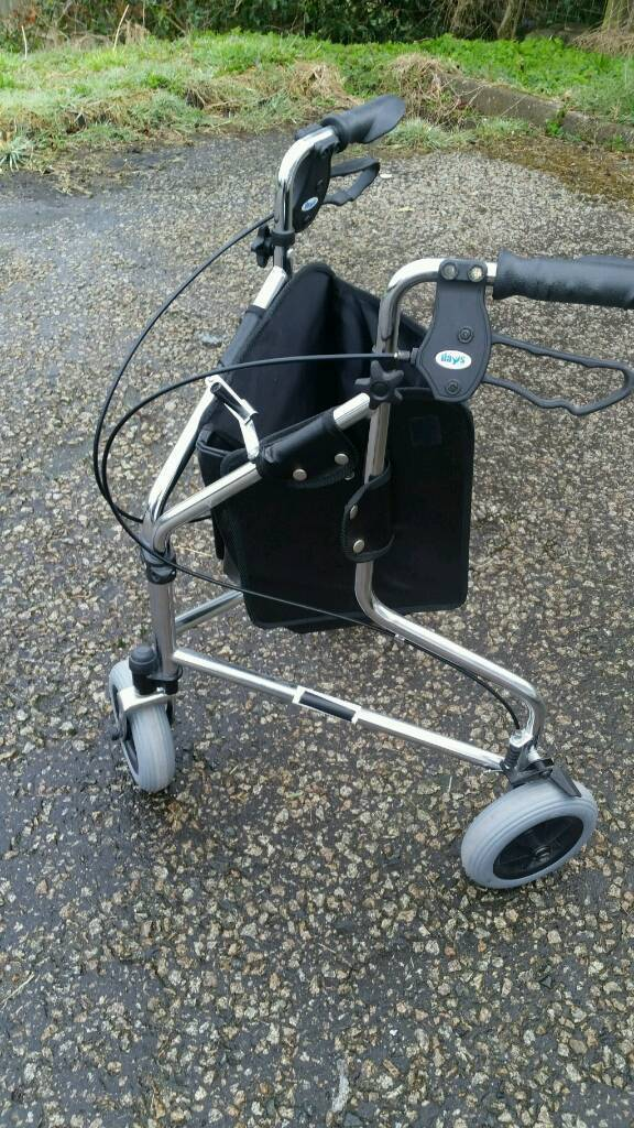 Tri-Wheel Walker with Bag