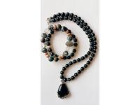 Bracelets and necklace