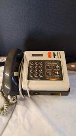 Retro, vintage pay phone