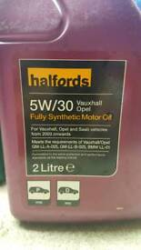 Halfords 5W30 Ford Fully Synthetic Motor Oil 2L