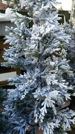 7.5ft snowy larch artifical tree