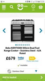 Beko double cooker