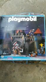 playmobil castle.