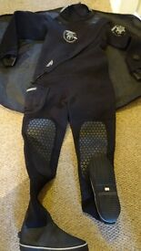 Norther Divers Front Zip dry suit (Reduced Price)