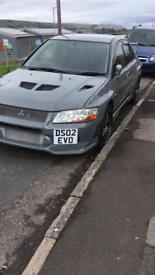 Mitsubishi evo 7 2002