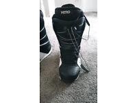 Snowboard boots 7.5UK Anthem Nitro - repair required