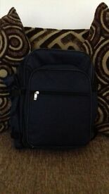 brand new picnic backpack (navy blue)