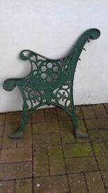 Cast Iron Ornamental Bench ends