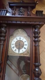 Beautiful grandmother clock for sale, good condition