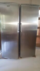Hotpoint Larder Fridge and Freezer - Silver