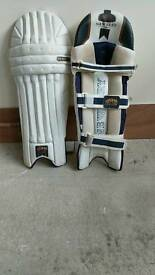 Newbury cricket pads and duffel bag cm