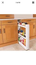 Kitchen space saver trolley