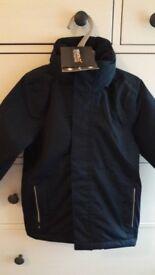 Brand New Boys Regatta Waterproof Coat Size 3-4 Yrs