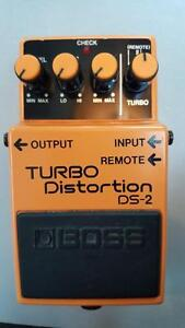 Pédale Boss Turbo Distortion.. MADE IN JAPAN!!!