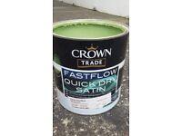 Kitchen cupboard paint - Farrow & Ball Yeabridge Green